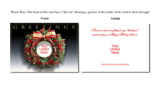 business christmas cards - Personalized Christmas Cards No Photo